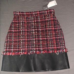 Alexander McQueen skirt in the style black mult